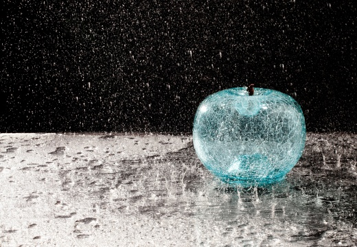 apple aquamarin rain