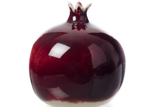 pomegranate porcelainbordeaux