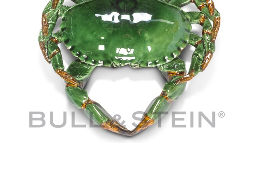 CRAB - TURQOISE-GREEN - LARGE